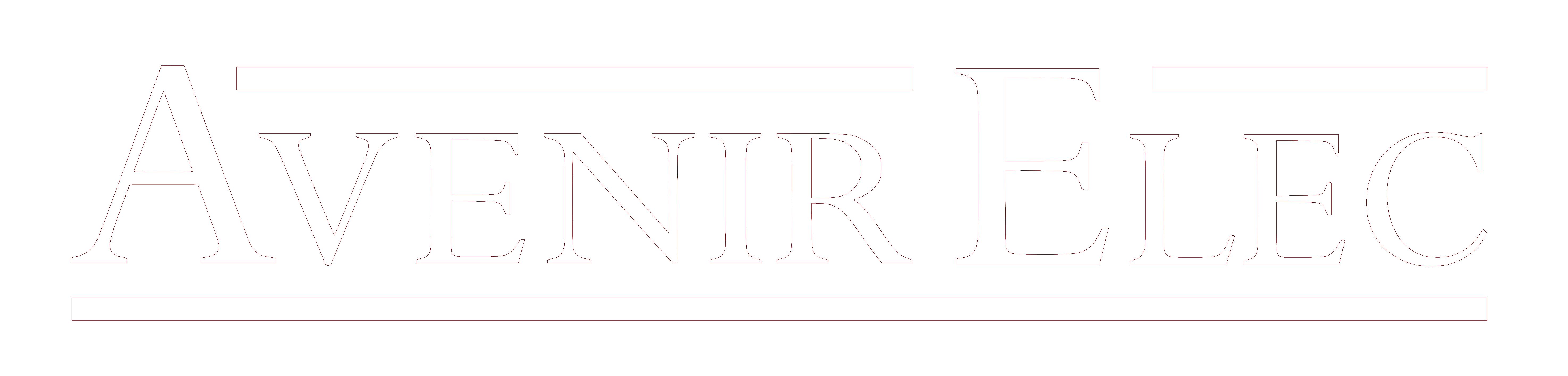 Avenir Elec Logo Blanc