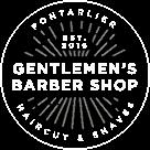 Logo genlemens barber shop